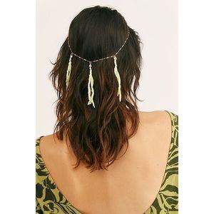 NEW Free People Waterfall Fringe Chain Headpiece